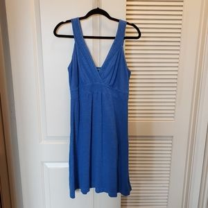 Tommy Bahama Blue Dress Sz Large